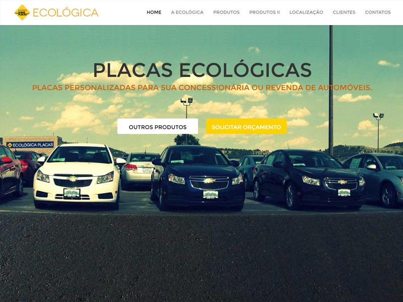 Dashboard Ecologica Placas
